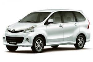 Private Bali Driver Hire Service - Totoya Avanza LTP1