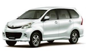 Private Bali Driver Hire Service - Totoya Avanza LTP2