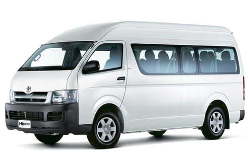 Private Bali Driver Hire Service - Totoya Hiace LTP
