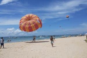Tanjung Benoa Beach Watersport Parasailing 120119