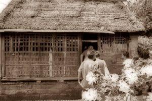 The Balinese House Compound in Batuan Village -Kitchen 130119