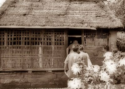 The Balinese House Compound in Batuan Village -Kitchen 130119
