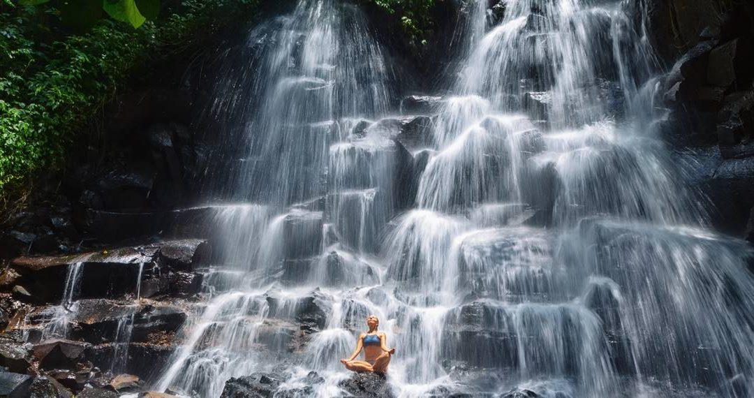 Bali Waterfall and Kintamani Hot Spring Tour