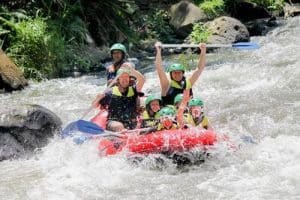 Bali White Water Rafting Tour