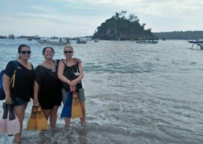 Nusa Penida Tour - Crystal Bay Beach 01