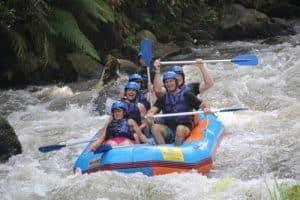 Ayung River White Water Rafting Bali