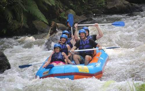 Ayung River White Water Rafting Bali