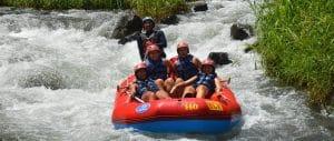 Telaga Waja River White Water Rafting Bali
