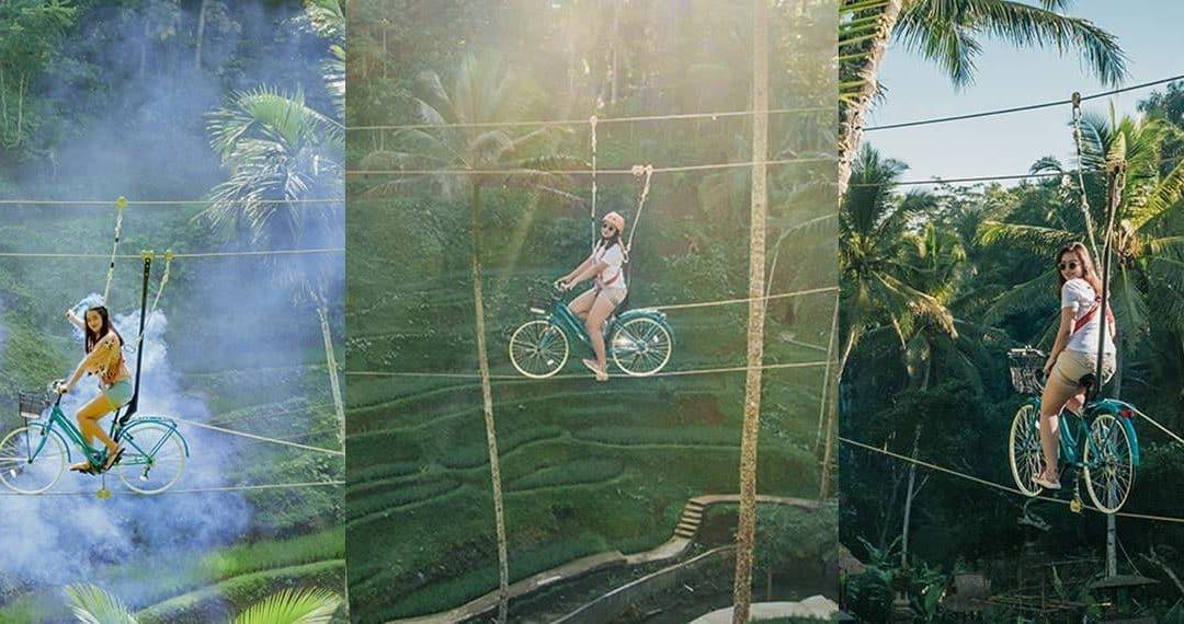 Bali Ubud Sky Bike Tour